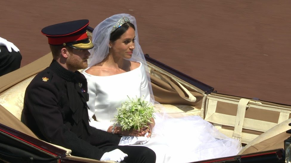 LIVE: Watch the celebrations after Harry and Meghan's wedding